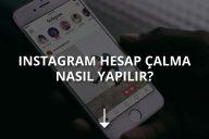 Instagram Hesap Çalma