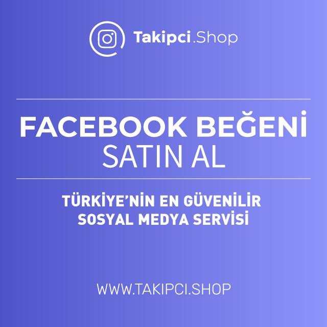 Facebook beğeni satın al