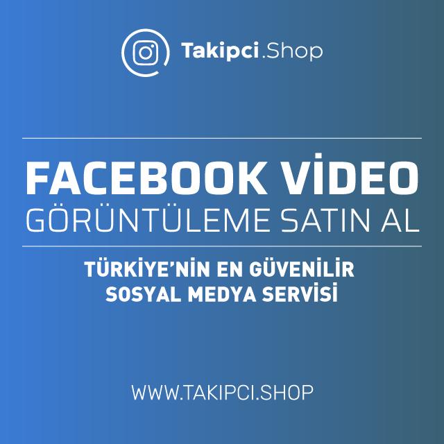 Facebook video görüntüleme satın al