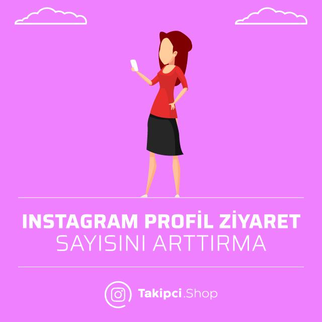 Instagram Profil Ziyaret Sayısını Arttırma