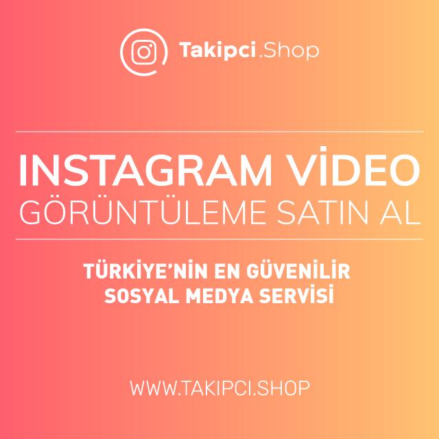 Instagram İzlenme Satın Al ( Görüntüleme )