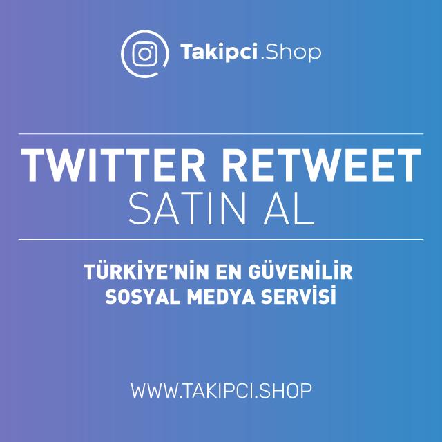 Twitter retweet satın al